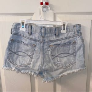 Abercrombie & Fitch Shorts - Abercrombie and Fitch Destroyed Jean Shorts